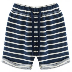 Casual Soft Cotton Summer Straight Leg Stretchy Wa DEEP BLUE 4T