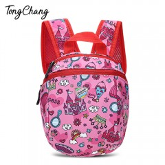 TongChang Cute Cartoon Printed Waterproof Children PINK