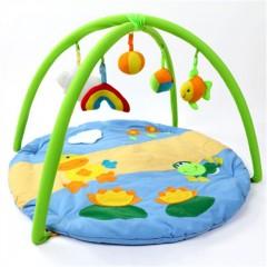 New  Baby Blanket  Cartoon Game Play Carpet Child  GREEN