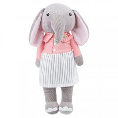 Metoo Sweet Stuffed Cartoon Elephant Design Babies #8