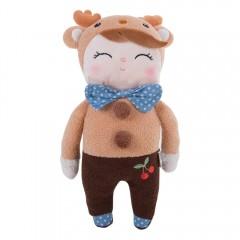 Metoo Sweet Cartoon Animal Design Stuffed Babies P BROWN BEAR