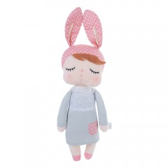 Metoo Sweet Cartoon Animal Design Stuffed Babies P GREY COAT