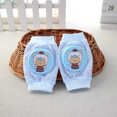 Lovely Children Breathable Mesh Knee Pad BLUE LITTLE BEAR