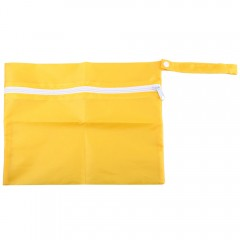 Convenient Baby Dirty Cloth Waterproof Travel Butt YELLOW 30 X 24.5 X 1CM