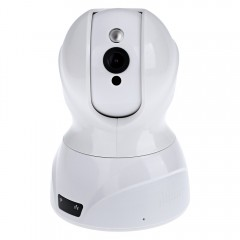 826 3D Intelligent IP Camera Noise Reduction Night WHITE US PLUG