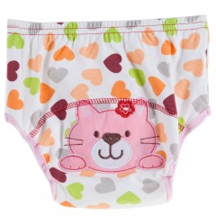Cute Cotton Washable Breathable Stretchy Printed B CAT 80