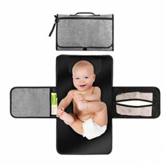 Folding Portable Baby Diaper Changing Pad GRAY