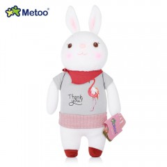 Metoo Tiramitu Rabbit Fetish Style Stuffed Plush D GRAY