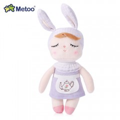 Metoo Angela Bunny Stuffed Baby Plush Doll Pendant LIGHT PURPLE