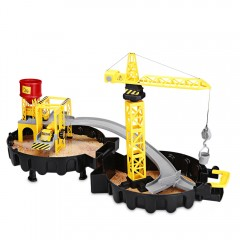 WY205 Construction Sites with Diecast Play Set Par COLORMIX
