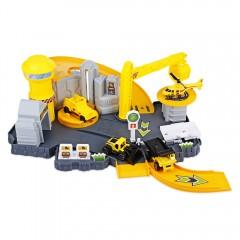 P871 - A Kids Railway Car Play Set Construction Si YELLOW