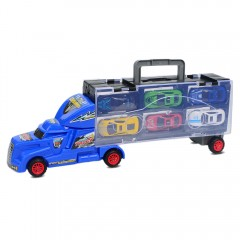 Advanced Portable Large Container Truck Kids Alloy BLUE