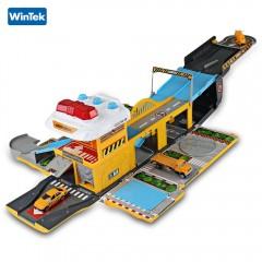 WinTek 5018 Assembled Track Engineering Vehicles C YELLOW