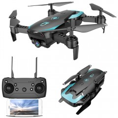 X12 WiFi FPV RC Drone Altitude Hold Wide-angle Len BLACK 2MP CAMERA