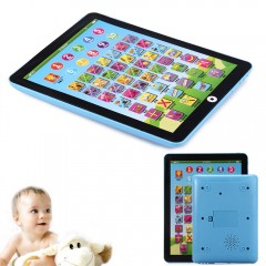 Kids Children English Learning Pad Toy Educational BLUE