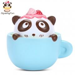 SquishyFun PU Sponge Slow Rising Simulate Cute Pan BLUE