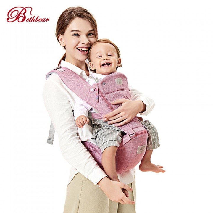 df775f89b38 Bethbear Baby Carrier Ergonomic Backpack Hipseat N DARK GRAY ...
