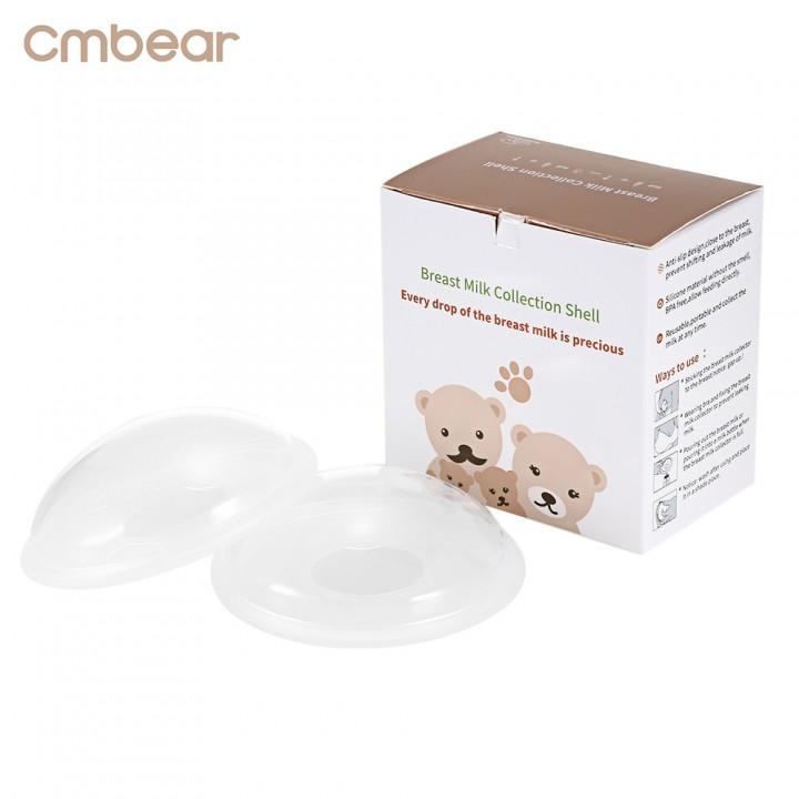 Cmbear 2pcs Baby Feeding Breast Milk Washable 10ml TRANSPARENT