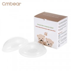 Cmbear 2pcs Baby Feeding Breast Milk Washable 10ml TRANSPARENT