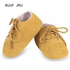 BUUF JRU Casual Star Pattern Soft Sole Skid-proof  YELLOW 11CM