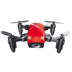 AEOFUN S9 Micro Foldable RC Quadcopter RTF 2.4GHz  RUBY RED WIFI