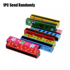 Painting Electronic Harmonica Early Educational In COLORMIX