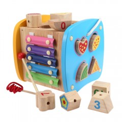 Multifunctional Puzzle Building Block Box Shape Ma MULTI