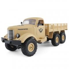JJRC Q60 6WD RC Off-road Car Military Truck Inclin DESERT SAND