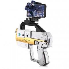 Homkey AR - 82 Bluetooth 4.2 Game Pistol Gun with  WHITE
