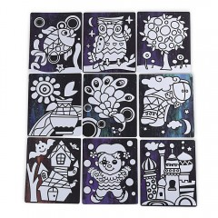 Paper Sticker Handmade Toy for Children COLORFUL