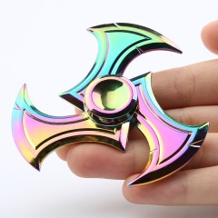 Anti-stress Fidget Toy EDC Fingertip Spinner COLORFUL 7.5*7.5*1.5CM