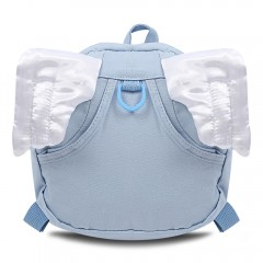 Cute Angel Wings Pattern Design Backpack for Baby  WINDSOR BLUE