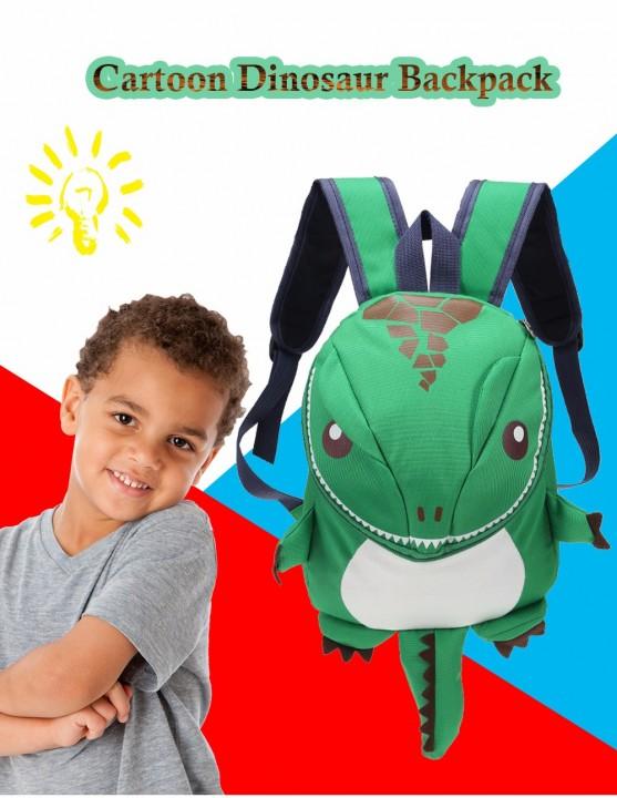 Cartoon Dinosaur Backpack Children Kids Kindergarten School Bag