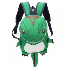 Cartoon Dinosaur Backpack Children Kids Kindergart GREEN