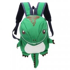 Cartoon Dinosaur Backpack Children Kids Kindergart GREEN