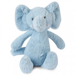 Stuffed Elephant Plush Doll Toy Gift for Baby LIGHT BLUE