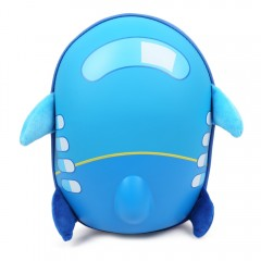 Children Backpack 3D Cartoon Kindergarten School B DEEP SKY BLUE