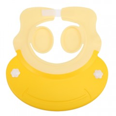 Baby Children Bathing Shower Cap Shampooing Ear Pr YELLOW