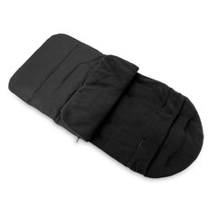 Pushchair Footmuff Warm Toe Cover Winter Windproof Warmth Sleeping Bag BLACK