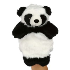 Animal Fluffy Glove Hand Puppet Soft Toy COLORMIX