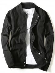 Rib Panel Lightweight Jacket BLACK XL