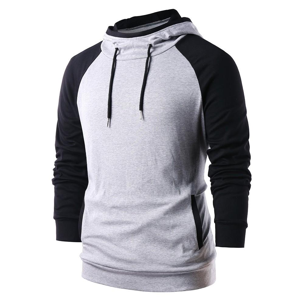9a17e076 Raglan Sleeve Color Blocking Pullover Hoodie PLATINUM M: Product No:  2218210. Item specifics: Seller SKU:C6PERFQHV: Brand: