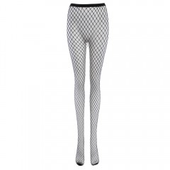 Sexy Black Hollow Out Fishnet Stocking for Women BLACK ONE SIZE(FIT SIZE XS TO M)