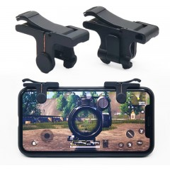 Gaming Trigger Shooting Fire Button Aim Key Smart  BLACK