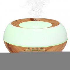 RY25C 300ML Wood Grain Ultrasonic Essential Oil Di WOOD COLOR EU PLUG
