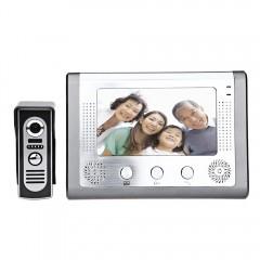 SY801M11 7 Inches TFT Screen Hands Free Video Inte SILVER WHITE EU PLUG