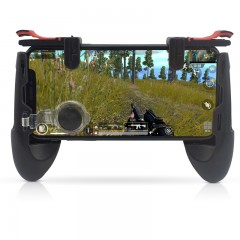 Gamepad For Mobile Phone Game Controller Shooter T BLACK