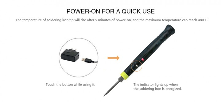 Portable USB Electric Soldering Iron Pen