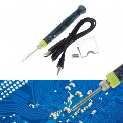 Portable USB Electric Soldering Iron Pen BLACK