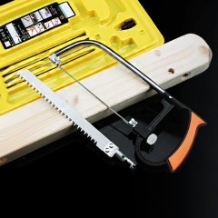 Multifunctional Woodworking Hacksaw Set YELLOW